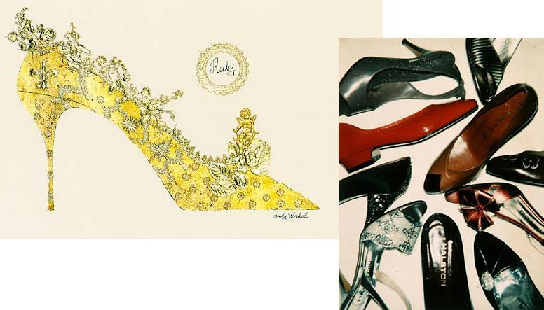Eu e minha estupidez  Andy Warhol e os sapatos eb3c87d02e