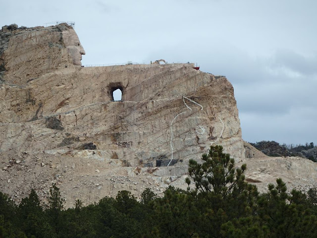 crazy horse, monument, road trip