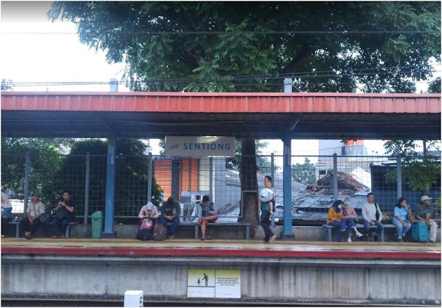 Stasiun Gang Sention - Jadwal KRL Gang Sentiong