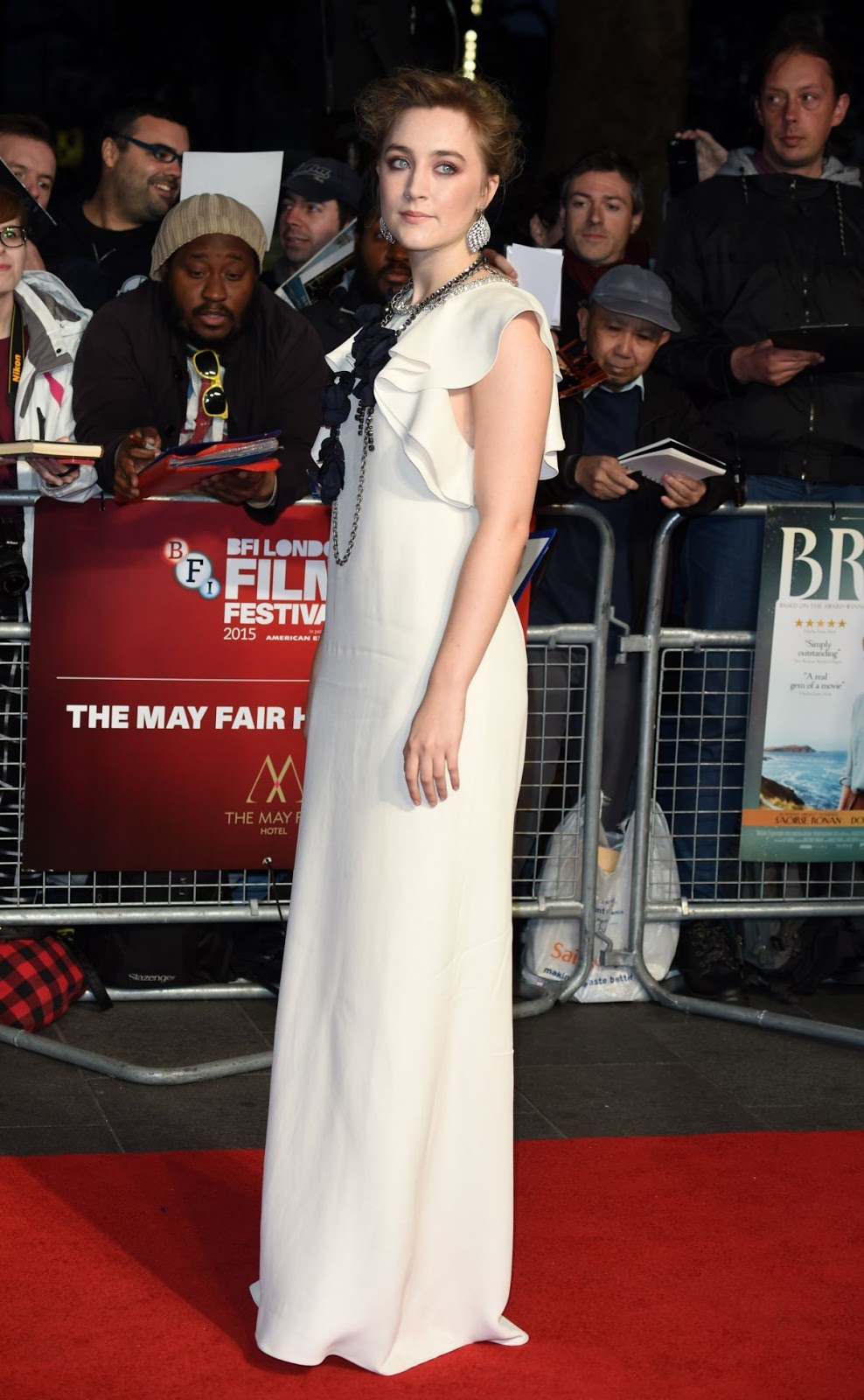 Saoirse Ronan at Brooklyn Premiere at BFI London Film Festival