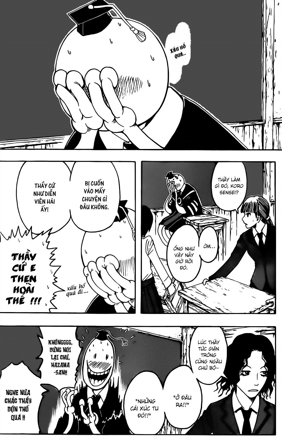Ansatsu Kyoushitsu chap 32 trang 9
