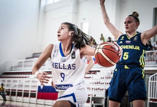 ΕΟΚ | Εθνική Κορασίδων: Ελλάδα-Σλοβενία 77-43