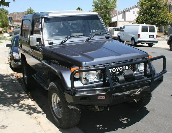 1986 Toyota Land Cruiser BJ74