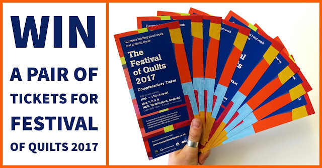 Win a pair of tickets to Festival of Quilts 2017