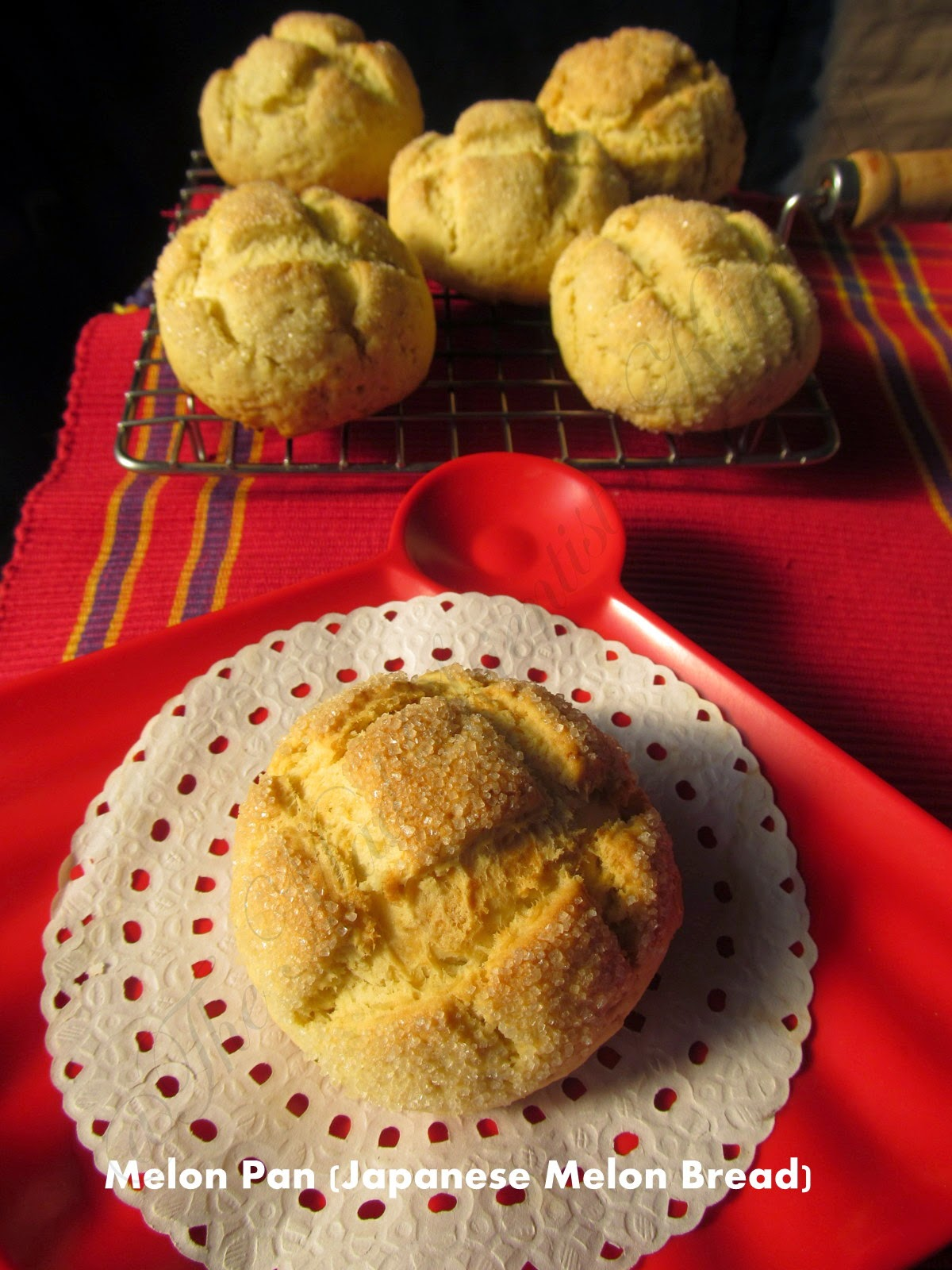 Melon Pan (Japanese Melon Bread)