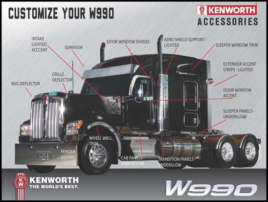 Kenworth W990