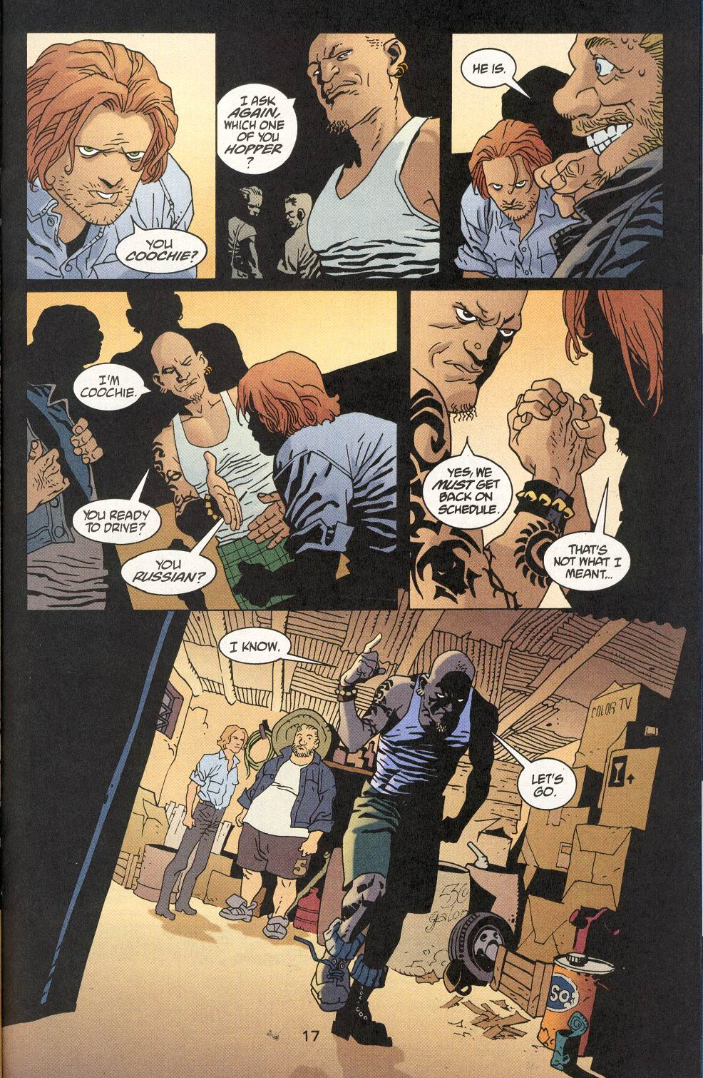 Read online 100 Bullets comic -  Issue #29 - 18