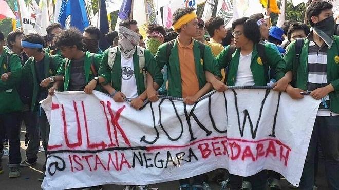 Demo BEM Se indonesia Sepi Pemberitaan Ada Apa?