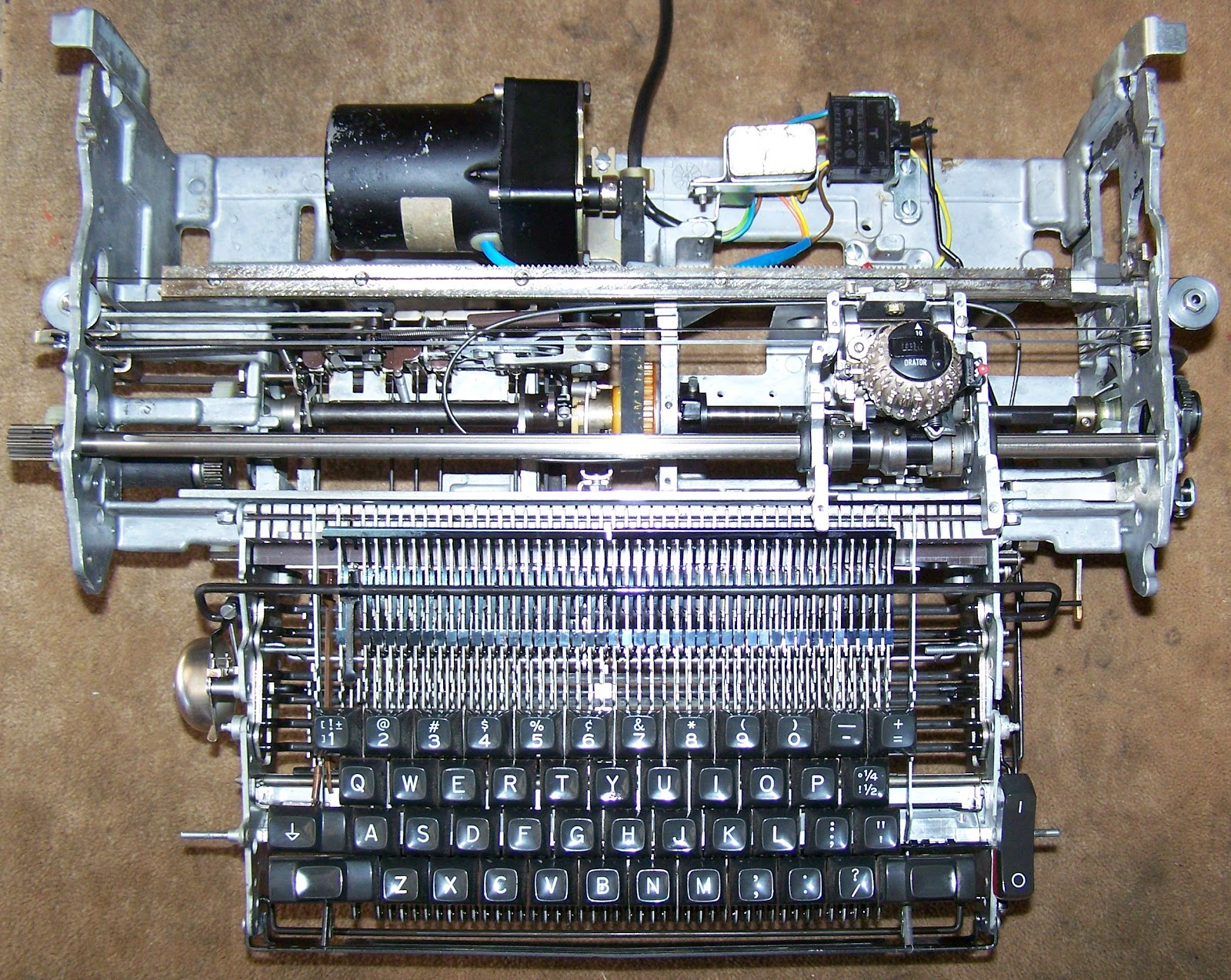 Electric Blickensderfer Typewriter