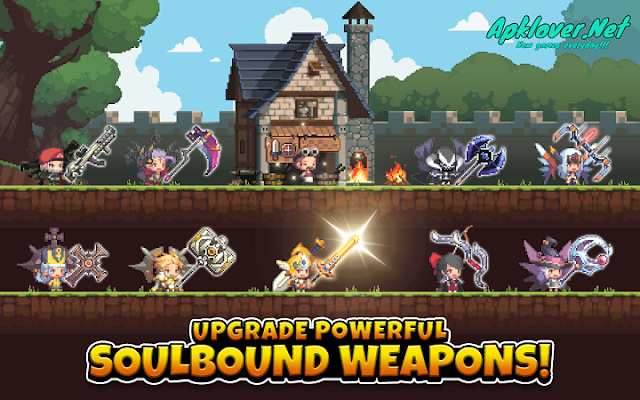 Crusaders Quest MOD APK unlimited health