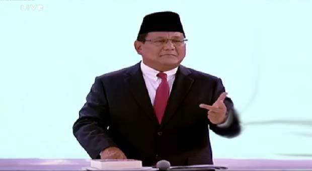 Prabowo Janji Berantas Perusahaan Perusak Lingkungan