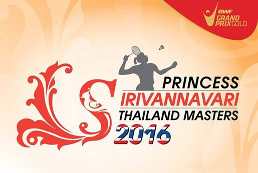 Thailand Masters Grand Prix Gold 2016