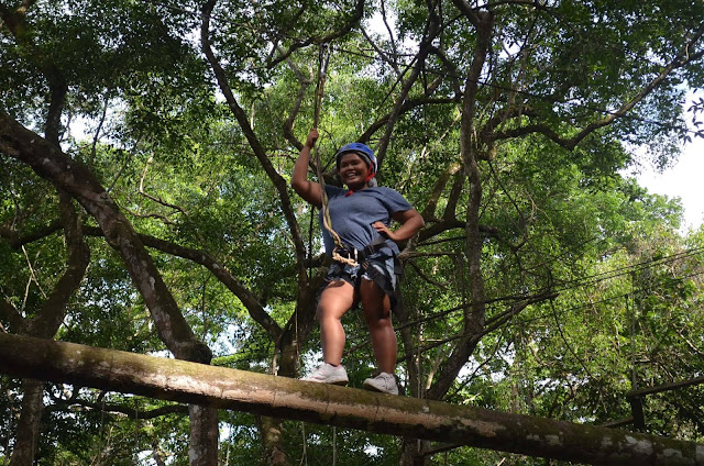 CHAP Bohol Adventure Curious Onion Rope Course