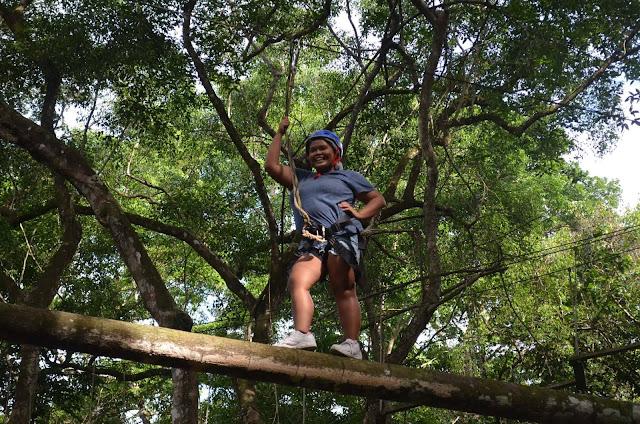 CHAP Bohol Adventure Curious Onion Rope Course