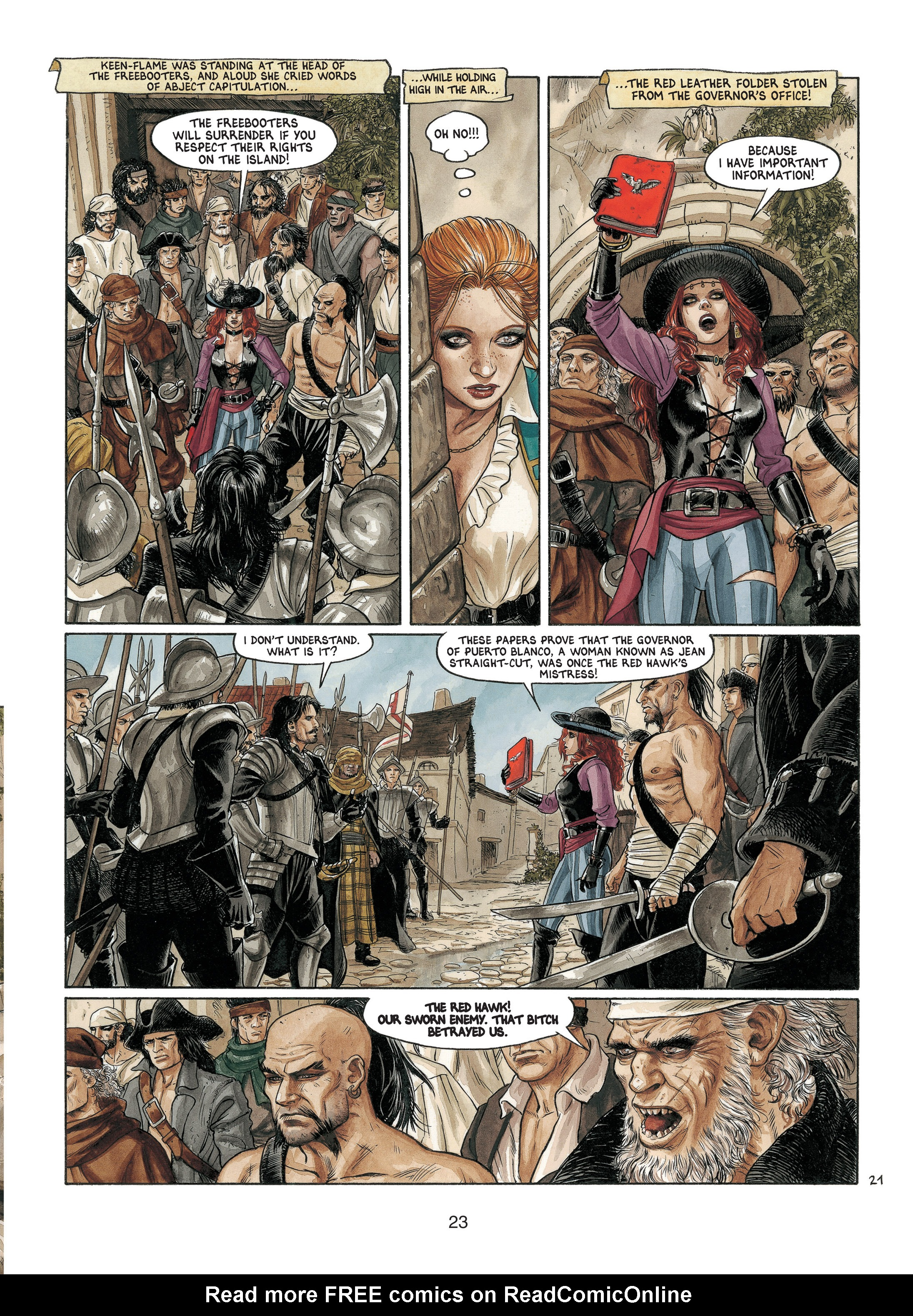 Read online Barracuda comic -  Issue #4 - 24