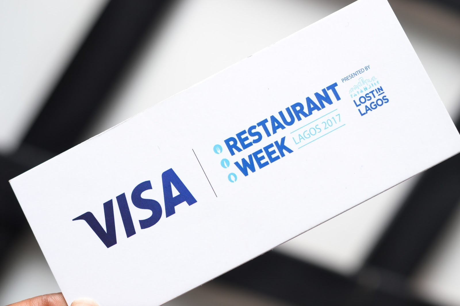 Visa Restaurant Week Voucher