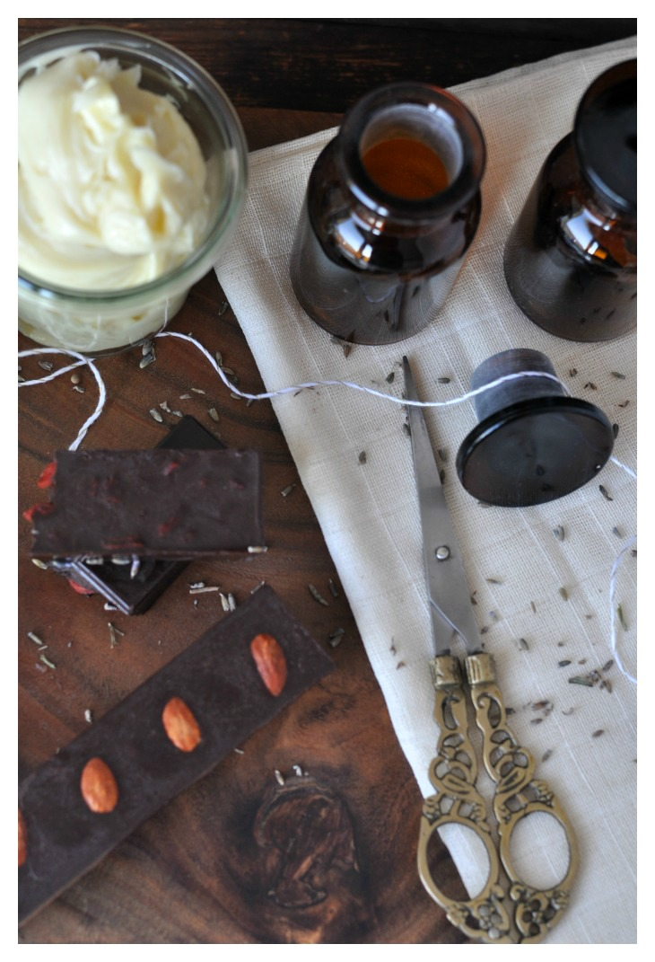 DIY Chocolate and Bpdy Butter, a great treat to pamper yourself