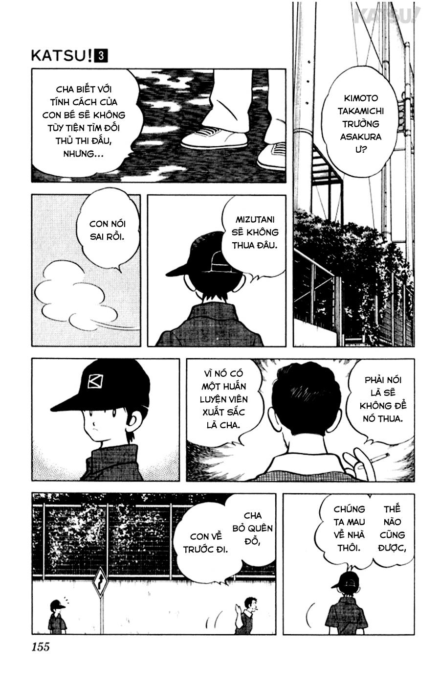 Katsu! chương 027: mizutani sẽ không thua đâu! trang 9