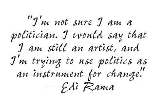 Art Now and Then: Edi Rama