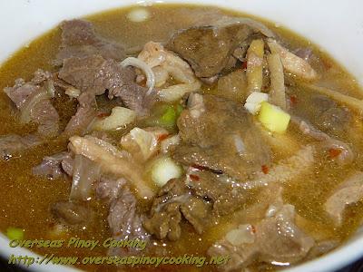 Beef Pinapaitan