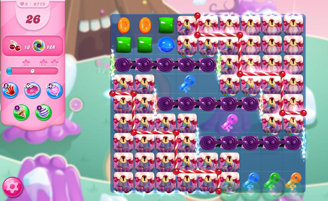 Candy Crush Saga level 6779