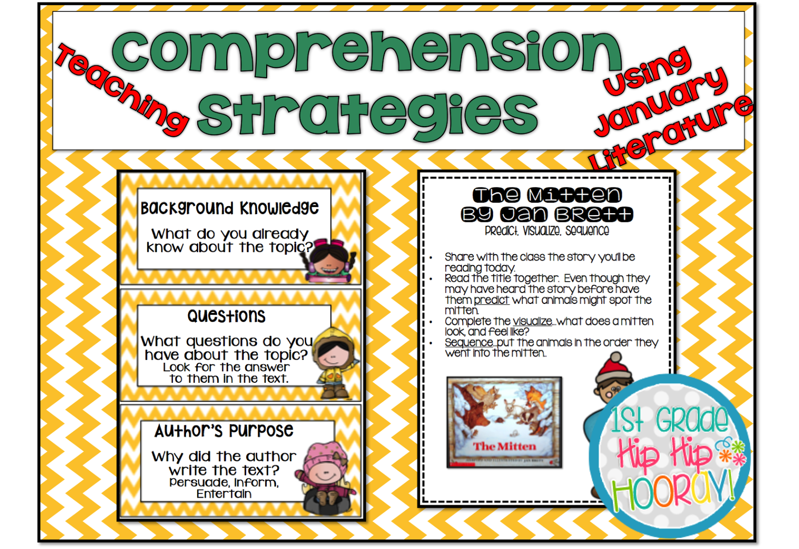 Teach Comprehension Strategies Using Literature That Your Students Will Enjoy And Fits With The Theme Of Month