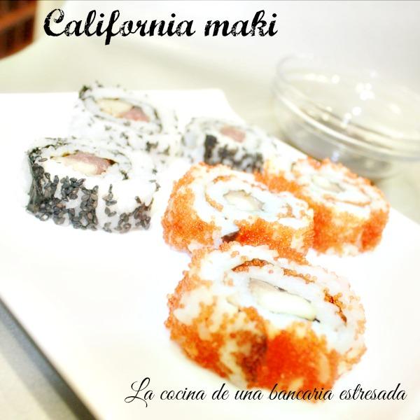 Receta de california maki