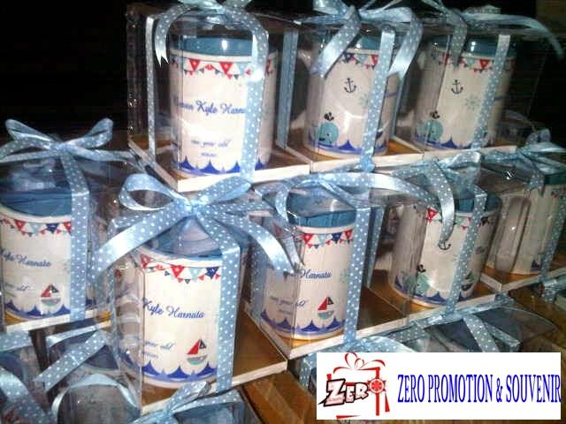 souvenir mug untuk perayaan buah hati