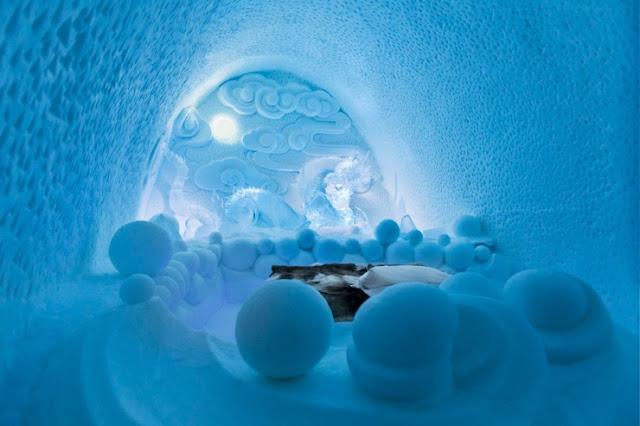 Ice Hotel, Jukkasjärvi, Swedia