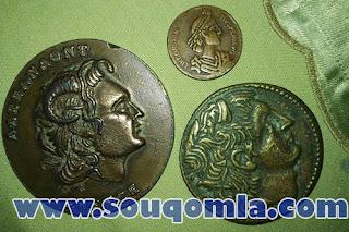 مجموعة من العملات المعدنية النادرة ترجع للعصور الوسطى