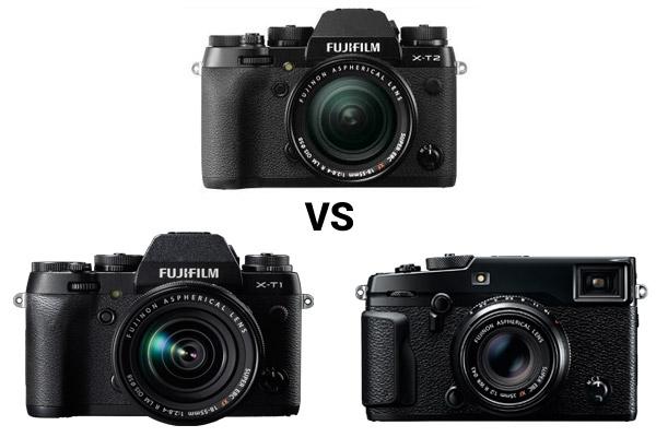 Park Cameras Blog: Fuji X-T2 vs X-T1 vs X-Pro2 Review