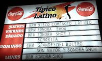 salón típico latino en heredia, salon de baile en heredia, sonora show, grandes del bolero