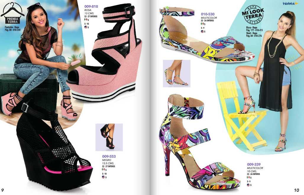 15e2f8be Onda Terra 2016 calzados de moda mujer catalogo PV ~ catalogos online
