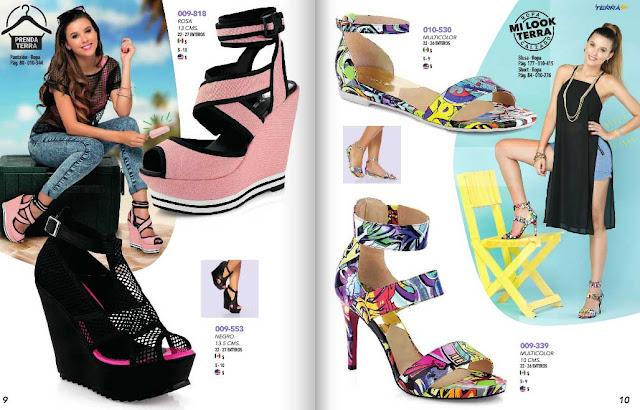 Onda Terra 2016 calzados de moda mujer   catalogo PV