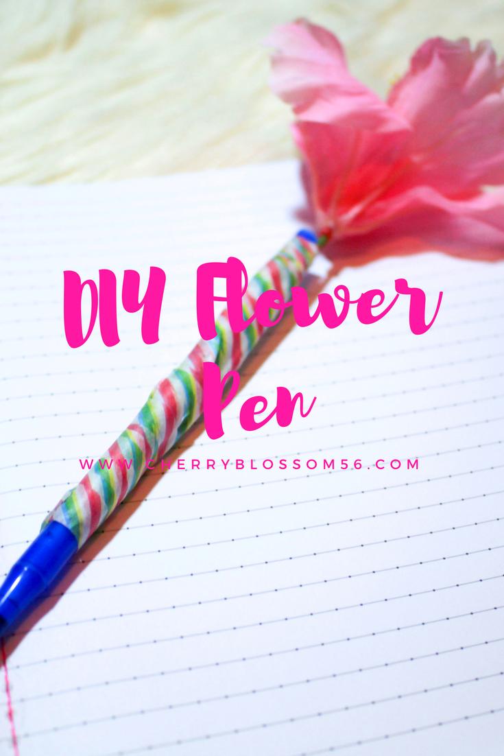 Diy Flower Pen Cherry Blossom 56