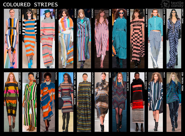 Marc Jacobs, Max Mara, Missoni stripes,Fendi, Joseph, catwalk, clover canyon, tata naka, Autumn/Winter 2016, fashion trend, print trend, textile design, Textile Candy, www.textilecandy.com,www.textilecandy.blogspot.co.uk, coloured stripes, stripe trend, stripe fashion, fashion design, contemporary fashion, upcoming fashion trend, uk trend blog, trend forecast,