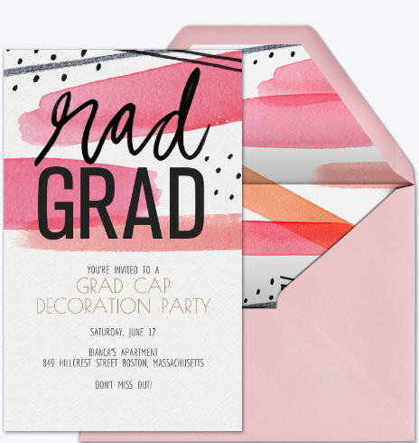No Hassle Graduation Party Tips (+ Sweepstakes!) - A Little Desert