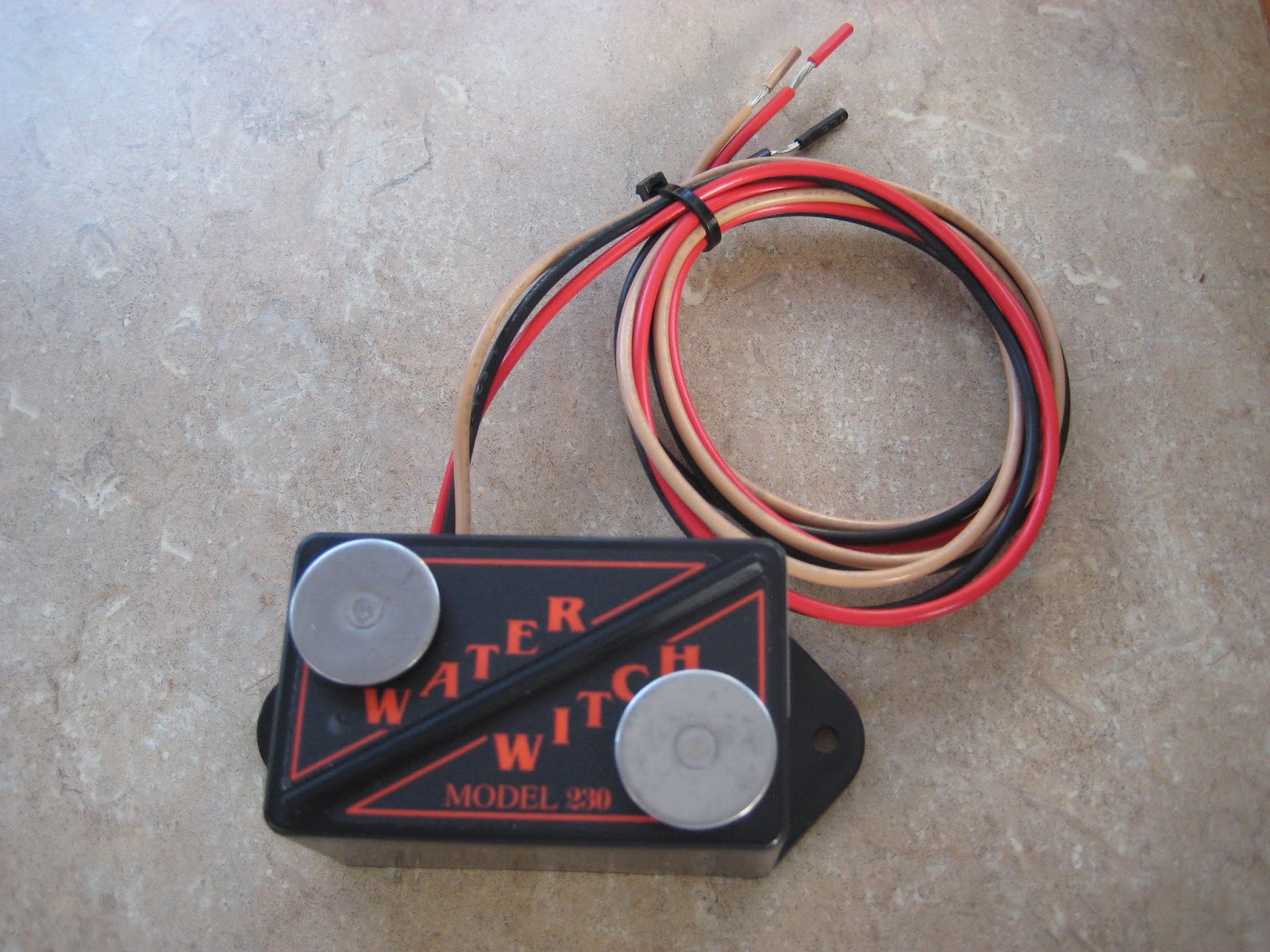 3 Bilge Pump Control Panel with Water Witch Digital Counter  USA MADE