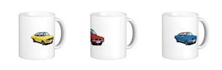Vauxhall, firenza, mug, mugs, muki, automobile