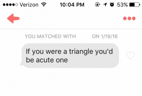 Dating lines that could backfire on guys