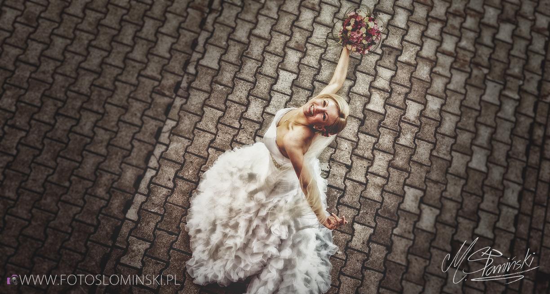 Jak zrobić piękne zdjęcie ślubne ? Jak zrobić portret Panny Młodej ? To proste... fotoslominski.pl