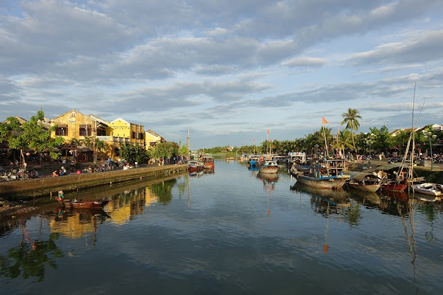 Lunar New Year is taking place in Hoi An