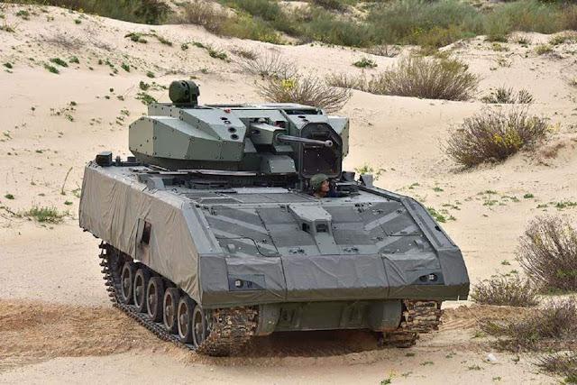 Xe chiến đấu bọc thép tiên tiến của Singapore nhận được tháp pháo không người lái mới