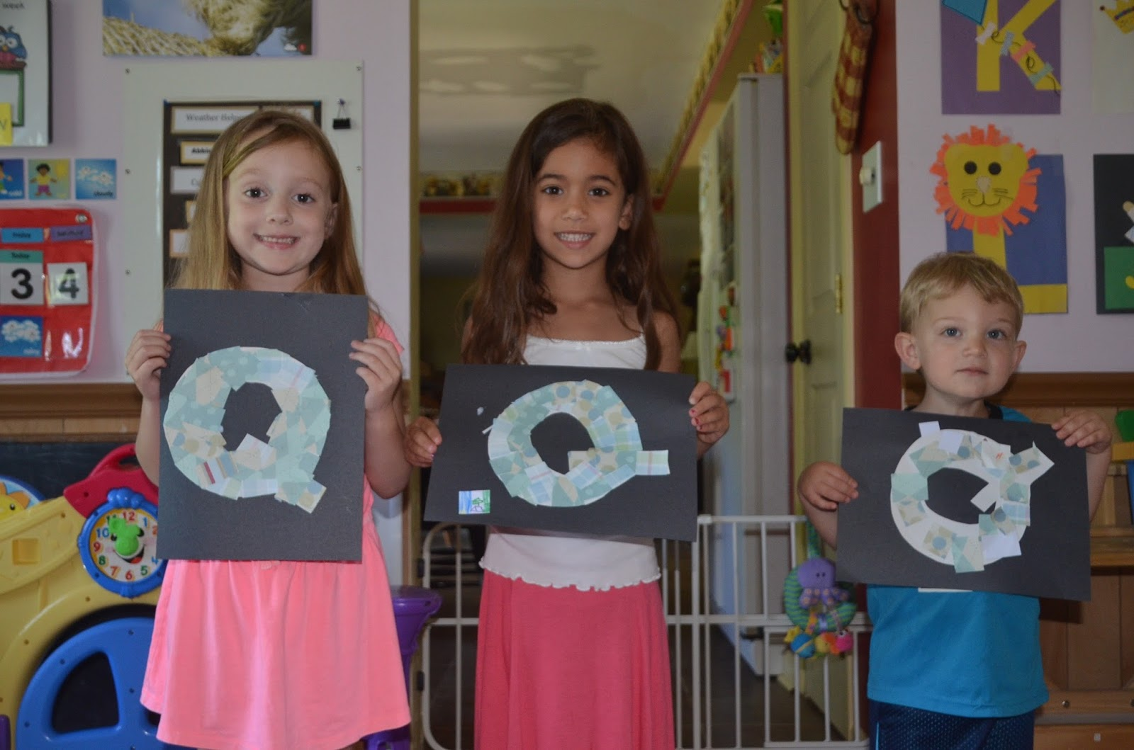 Aunt Tami S House Learning The Alphabet Letter Q