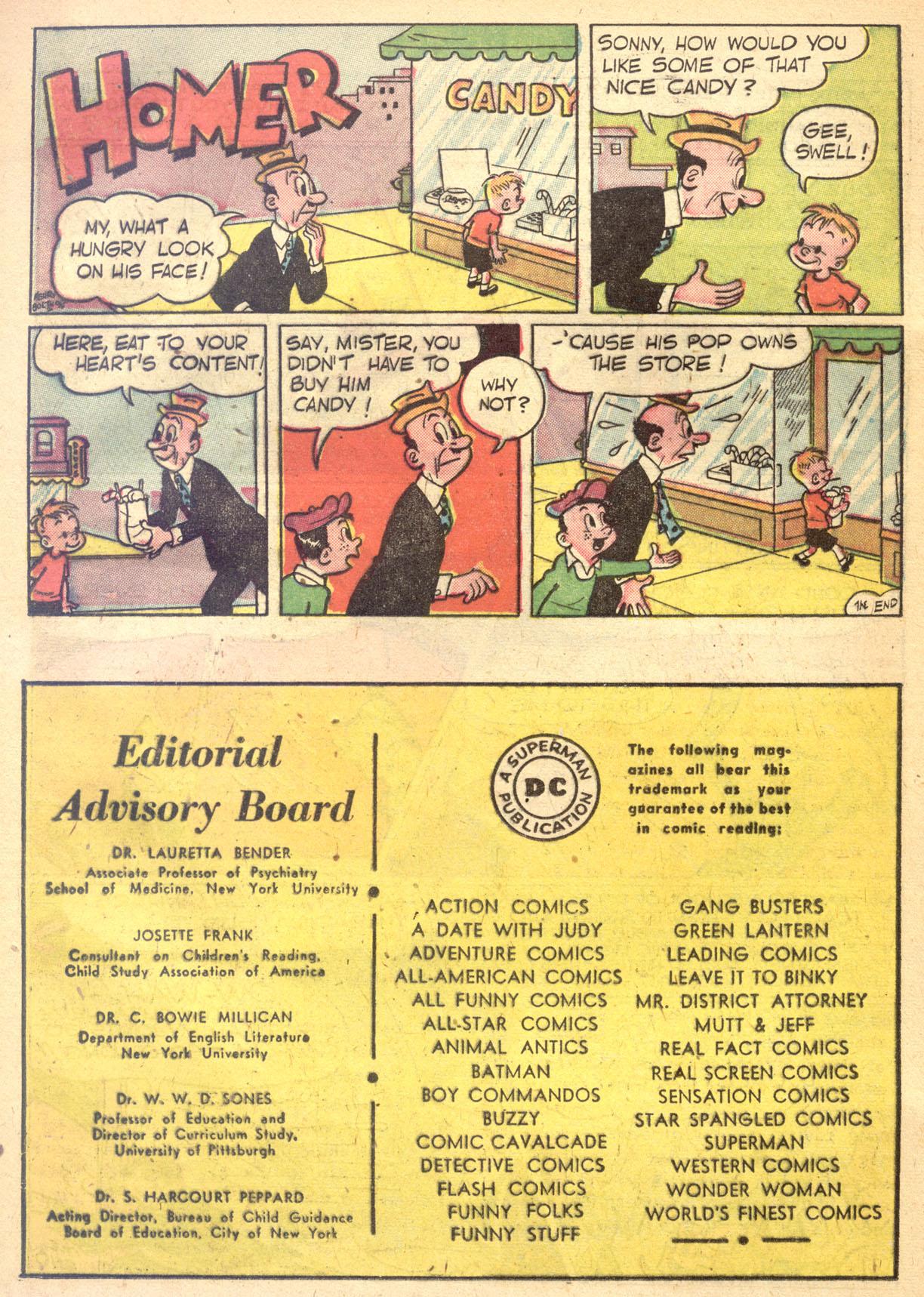 Read online Detective Comics (1937) comic -  Issue #134 - 34
