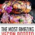 The Most Amazing Vegan Potato Red Cabbage Tikki