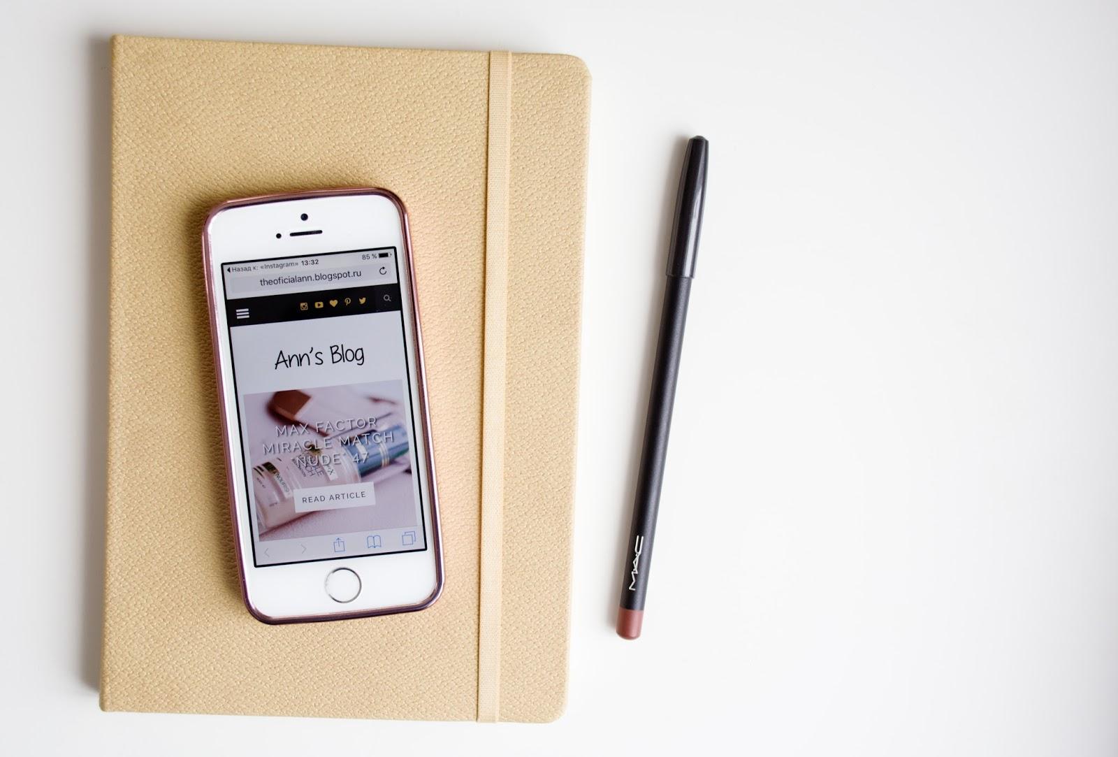 Планирование для блога