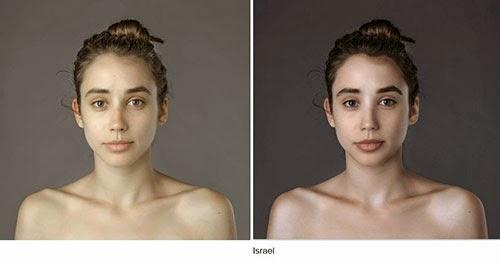 hasil photoshop wanita israel