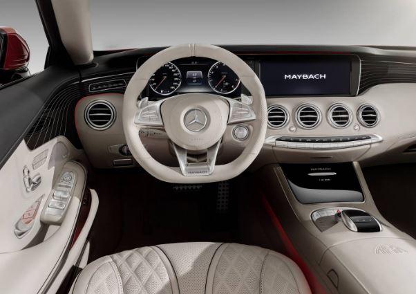 2017 MERCEDES MAYBACH S650 CABRIOLET INTERIOR