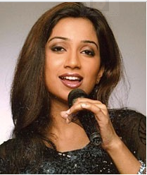 Singer Shreya Ghosal